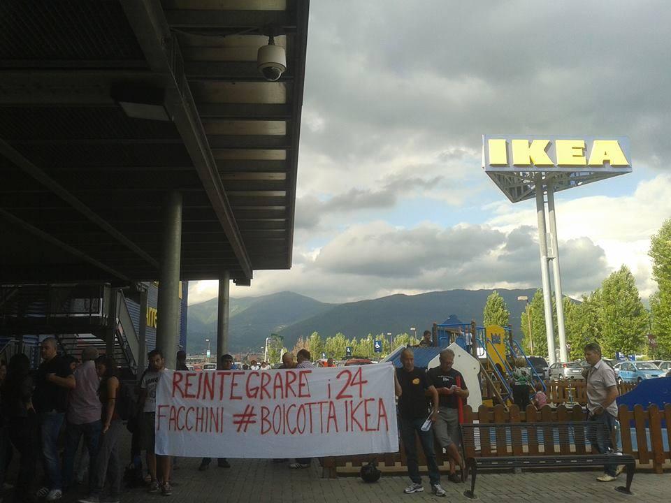 Un altra giornata di grande mobilitazione nazionale for Ikea firenze